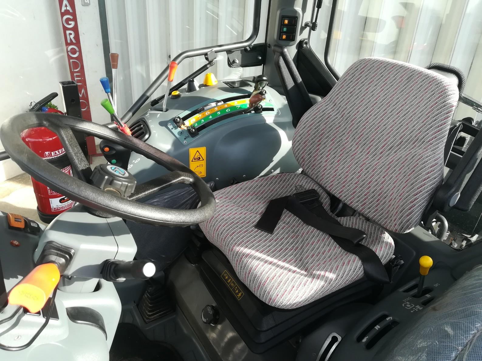 Trator landini alpine 85 cabinado